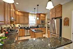 peacock green Granite kitchen - Phoenix Arizona Affordable Granite Phoenix